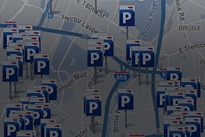 Parking Finder Map